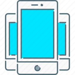 mobiles, responsive design, responsive devices, smartphones, touch screen icon