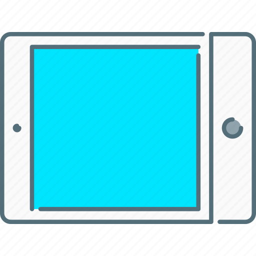 device, horizontal, ipad, tablet, touch screen icon