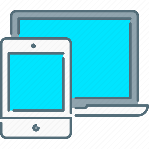 laptop, responsive design, responsive devices, tablet, touch screen, web icon