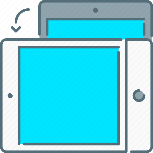 device, ipad, responsive design, responsive devices, rotate, tablet, touch screen icon