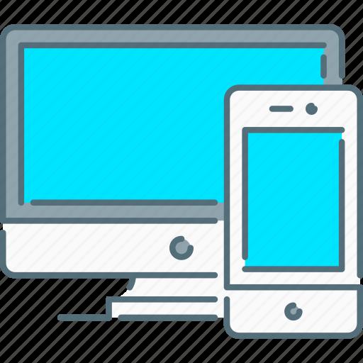 responsive design, responsive devices, screen, smartphone icon