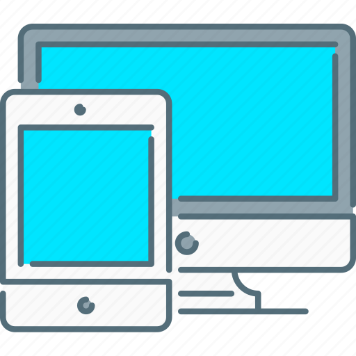 responsive design, responsive devices, screen, tablet icon