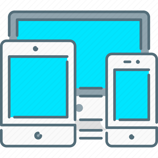 mobile, responsive design, responsive devices, screen, tablet icon