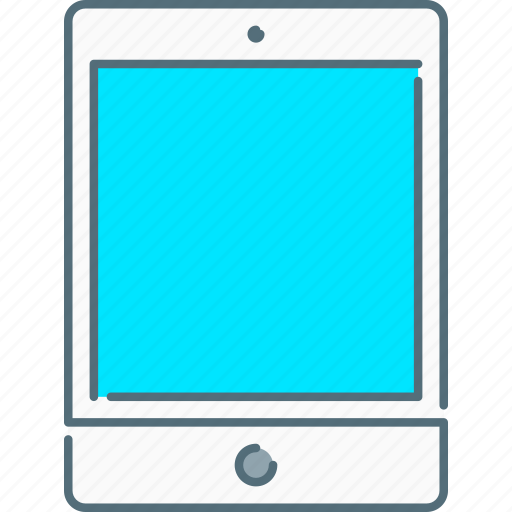 device, ipad, tablet, touch screen icon