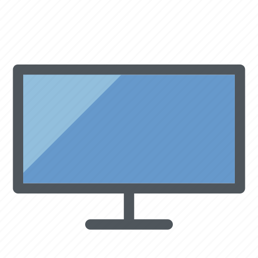 computer, device, imac, mac, monitor, screen, tv icon