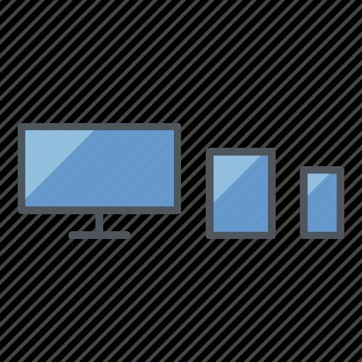 app development, devices, responsive, responsive design, user experience, ux, web design icon