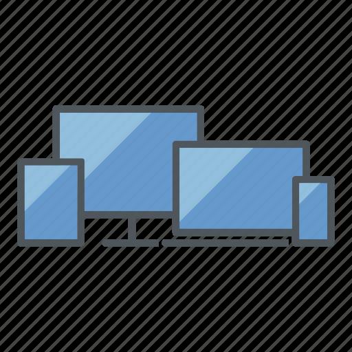 app development, devices, responsive, responsive design, user experience, web design icon