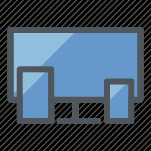 app development, devices, responsive, responsive design, user experience, web design, web development icon