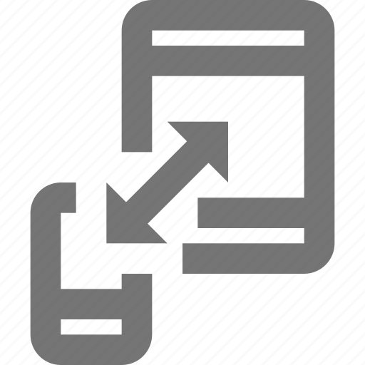 design, device, sync, syncing icon