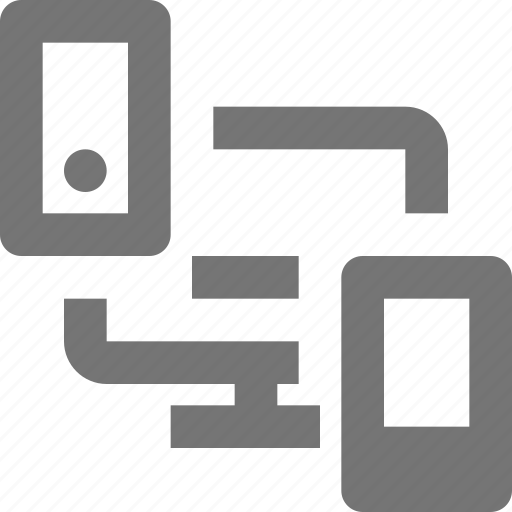 computer, design, device, gadget, responsive, smartphone, technology, transfer icon