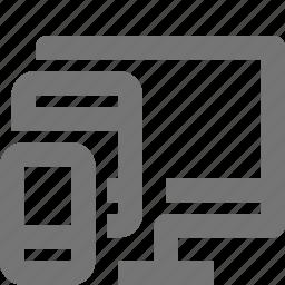 computer, design, device, smartphone icon
