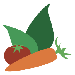 dinner, food, lunch, meal, restaurant, vegan, vegetables icon