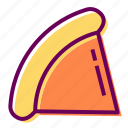 fast food, pizza, restaurant, slice