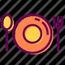 cafe, dinner, plate, restaurant
