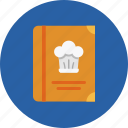 gastronomy, cookbook, cap, restaurant, food, cooking, meal icon