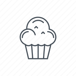 baked, bakery, cake, cakes, desserts, muffin icon
