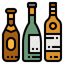 alcoholic, beverage, bottle, drinks, wine