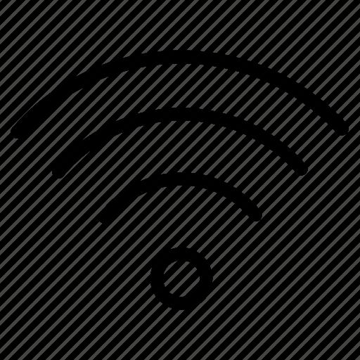 communication, internet, network, restaurant, signal, technology, wireless icon