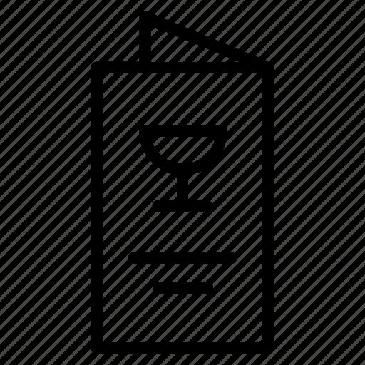 Brochure, cafe, cover, flyer, food, restaurant, vintage icon - Download on Iconfinder