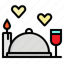 cover, dinner, food, plate, restaurant icon