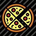fast, food, junk, pizza, slice
