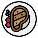 beef, food, grill, meat, steak icon