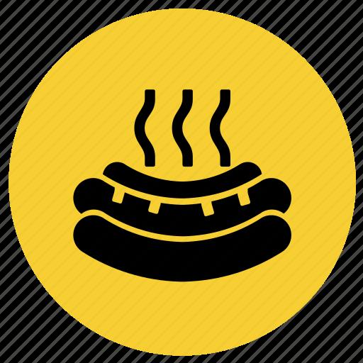 fast food, food, hot dog, hotdog, junk food, restaurant icon