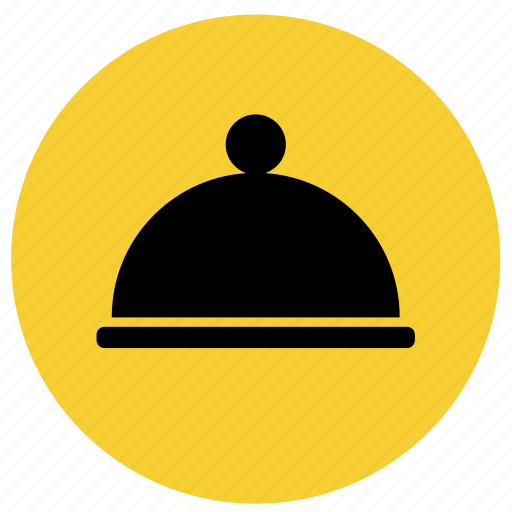dinner, dish, food, hotel service, launch, menu, restaurant icon