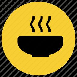 bowl, food, mug, restaurant, soup icon