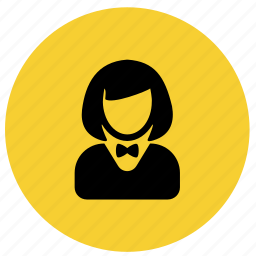 avatar, bos, cashier, manager, receptionist, restaurant, waitress icon