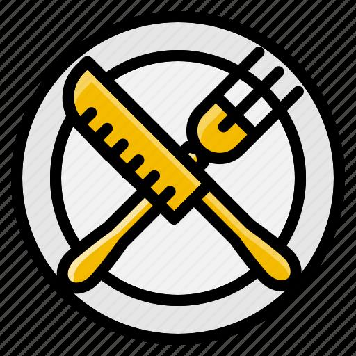 dish, element, fork, kitchen, knife, restaurant icon