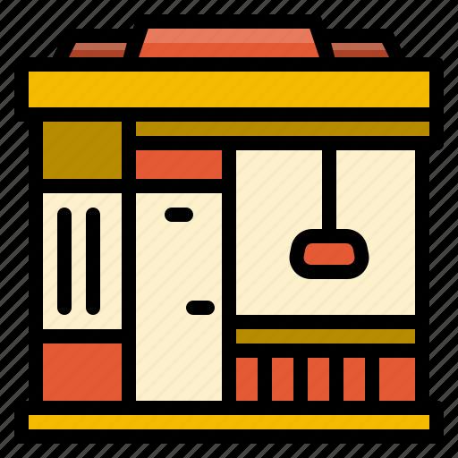 building, business, element, restaurant, shop, store icon