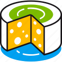 cheese, cooking, dairy, eating, food, kitchen, restaurant icon