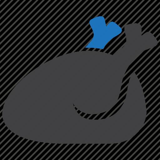 Chicken, food, leg, turkey icon - Download on Iconfinder