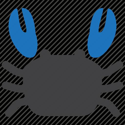 crab, food, seafood icon