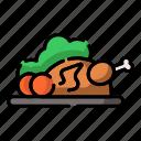 chicken, cook, cooking, food, meat, menu, restaurant