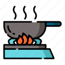 cook, cooking, food, gastronomy, kitchen, restaurant, utensil icon