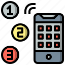 cellphone, iphone, mobile, phone, screen, technology, touch icon