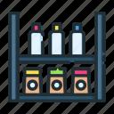 retail, shelf, shop, shopping, store icon