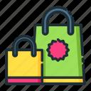 bag, retail, shop, shopping, store icon