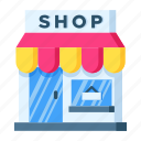 retail, shop, shopping, store icon