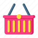 basket, retail, shop, shopping, store icon