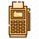 card, machine, retail, shop, shopping, store icon
