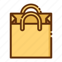 bag, paper, retail, shop, shopping, store icon