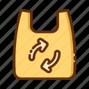 bag, plastic, retail, shop, shopping, store icon