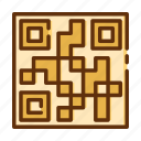 barcode, qr, retail, shop, shopping, store icon