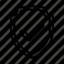 retail, shield, shop, shopping, store icon