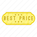best, cartoon, label, object, pennant, price, sign icon