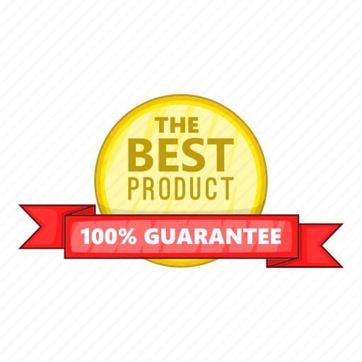 Best, cartoon, guarantee, label, object, product, sign icon - Download on Iconfinder