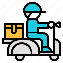delivery, fast, retail, sending, shipping icon